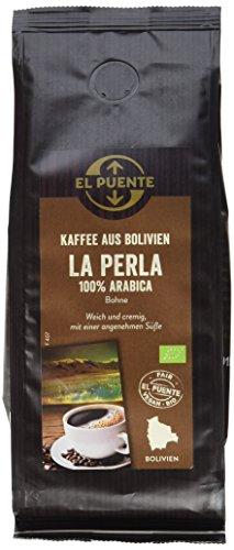 El Puente Bolivia kbA Bohne, biologisch, 4er Pack (4 x 250 g)
