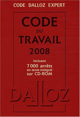 Code du travail (1Cédérom) par Christophe Radé, Caroline Dechristé