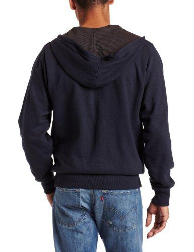 Dickies - - Tw382 Thermal Lined Hooded Fleece Jacket Dark Navy