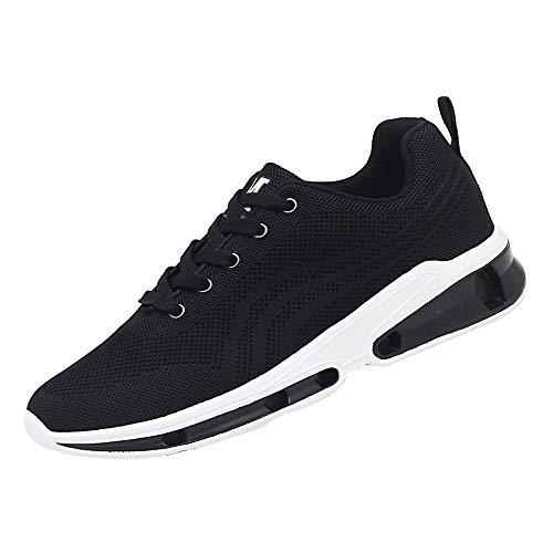 SHINEHUA Herren Sportschuhe Atmungsaktiv, Lässige Schuhe Mesh-Turnschuhe Männerschuhe Atmungsaktive Schuhe Studenten Laufschuhe...