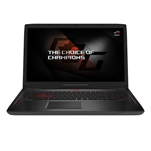ASUS GL702ZC-GC098T ROG Strix 17.3-inch Gaming Laptop (Black) - (AMD 6-Core/12 Thread Ryzen 5 1600 Processor, FreeSync Display, 8 GB RAM, 256 GB SSD + 1 TB HDD, AMD RX 580 4GB Graphics, Win 10)