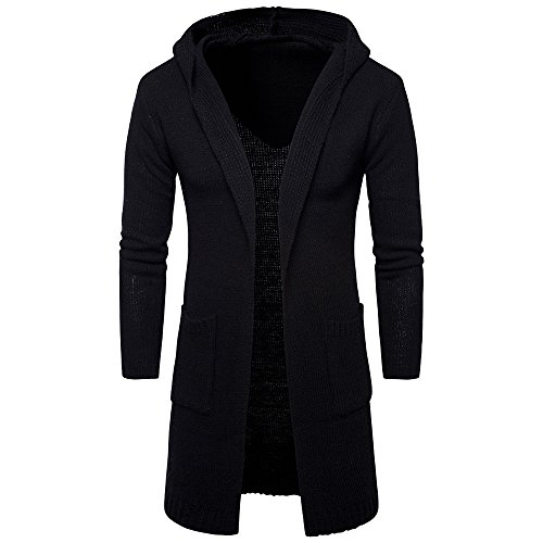 55a095c0caf DAY.LIN Hommes Liquidation Mode Casual Hiver Automne Épaissir Tops Hoodies  Loose Cardigan à Manches