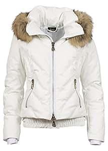High society helena veste de ski femme-blanc-l