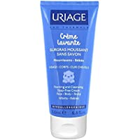 Uriage Foaming and Cleansing Soap-Free Cream for Babies Face/Body/Scal preiswert