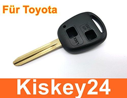 KIS® Boitier de clé de rechange pour Toyota Corolla AVENSIS AYGO RAV 4 Clé Radio