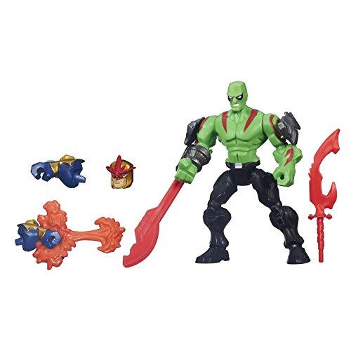 Marvel Super Hero Stampfern Drax Spielfigur mit Figur
