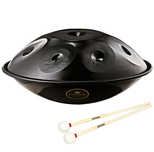 Meinl HD6 Sonic Energy Harmonic Art - Pan de mano y mazo de Keepdrum (1 par)
