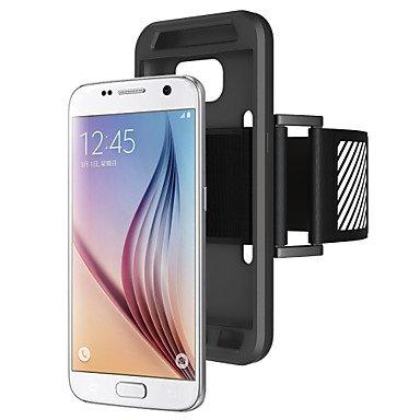 Basic Cellphone Cases Schutzhüllen, Shine Your Phone Armband Phone Case Combo Nachtwarnleuchte für Samsung Galaxy (Farbe : Schwarz, Kompatible Modellen : Galaxy S7) (Samsung-flip-telefon-modelle Alte)