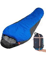 Al aire libre caliente Camping de grosor sobres ligero portátil resistente al agua saco de dormir