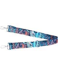FENICAL Adjustable Purse Strap Handbag Strap Nylon Replacement Crossbody Bags Strap (Blue)