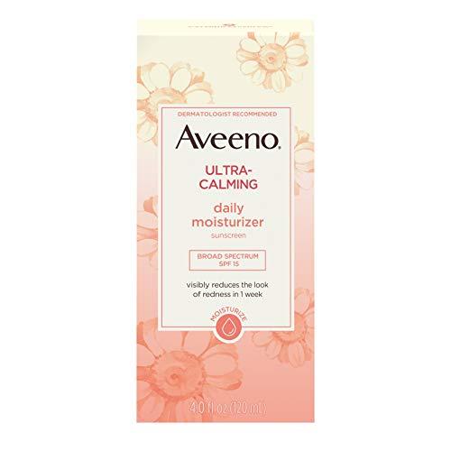 Aveeno Ultra-Calming Daily Moisturizer SPF 15-4 oz. (Lotionen) (Aveeno Moisturizer Spf)