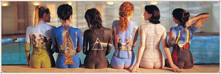 Poster Pink Floyd - back catalogue, 158 x 53 cm