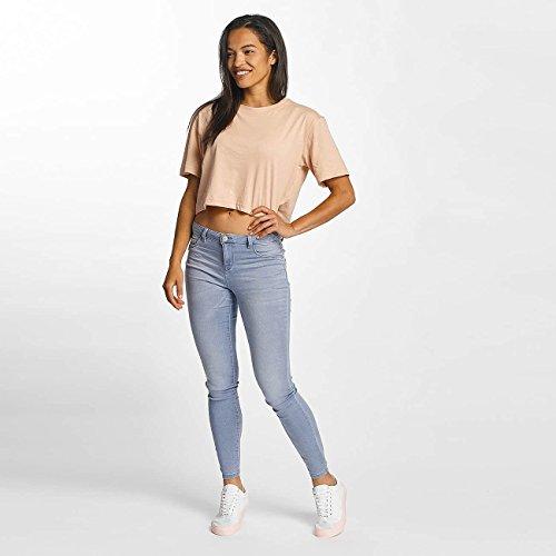 JACQUELINE de YONG Damen Jeans / Skinny Jeans jdySkinny Reg Ulle Light Blue