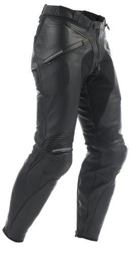*Dainese Alien Leder Motorradhose, Schwarz, Größe 50*
