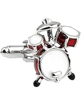 Mens Drum Kit Musik Manschettenknöpfe Geburtstag Geschenk