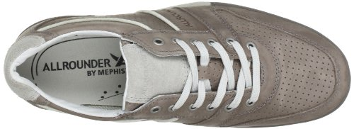Allrounder By Mephisto Domino, Baskets mode homme Gris