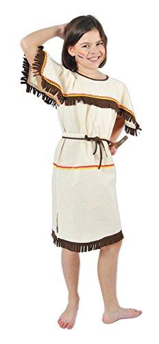 Unbekannt Indianerin Sioux Kostüm für Kinder Gr. 128