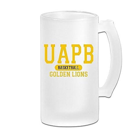 MeiSXue Arkansas Pine Bluff Golden Lions UAPB Basketball Beer Mug