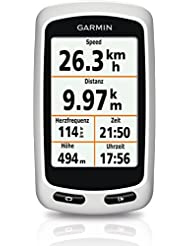Garmin Edge Touring Fahrrad Navigationsgerät - bis zu 15 Std. Akkulaufzeit, frei wählbare Datenfelder, RoundTrip Routing, 2,6 Zoll (6,6cm) Touchscreen-Display
