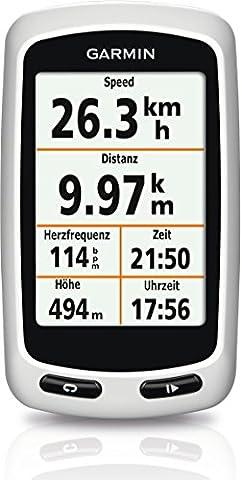 Garmin Edge Touring Fahrrad Navigationsgerät (bis zu 15 Std. Akkulaufzeit,