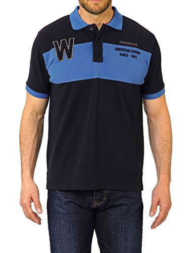Winchester roadster1Polo Short Sleeve Größe S marineblau