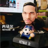 newolfend 12cm Fußball Basketball Stars Action Figur C Curry Ronaldo Messi James Bobble Kopf Puppen...