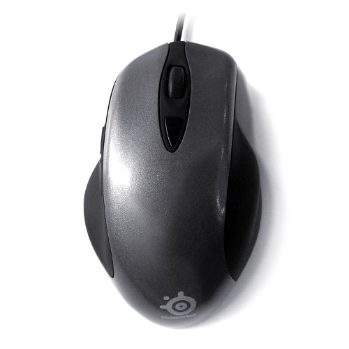 SteelSeries Ikari 62000 Wired Optical Gaming Mouse (Grey) 41ihul9LFyL