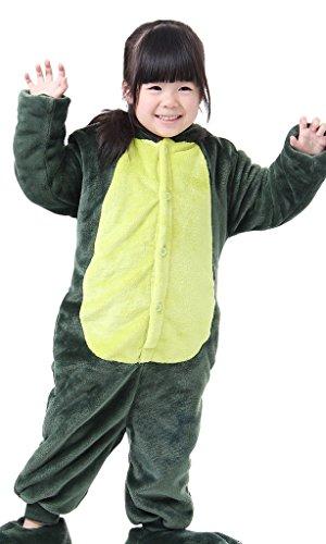 4How pyjama Junge winter flanell Sleepsuit Pyjamas Jumpsuit Dinosaurier (Kinder Verkleiden Zubehör)
