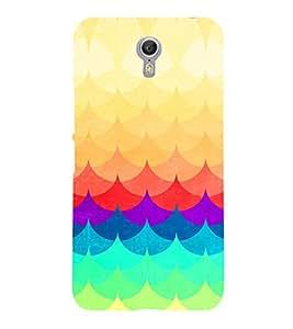 PRINTVISA Abstract Colourful Pattern Case Cover for LENOVO ZUK Z2 PRO