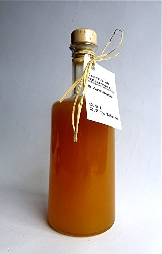 Crema di Balsamico APRIKOSE – dickflüssig, vollfruchtig-aromatisch, mild 0,5 L
