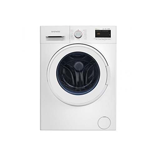 Daewoo DWD-FV62D1B Independiente Carga frontal 9kg 1200RPM A+++ Blanco - Lavadora (Independiente, Carga frontal, Blanco, Botones, Giratorio, Izquierda, LED)