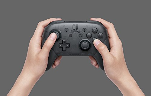 Nintendo Switch Pro Controller - Black screenshot
