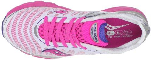 SAUCONY Pro Grid Kinvara 3 Scarpa da Running Donna Bianco/Rosa