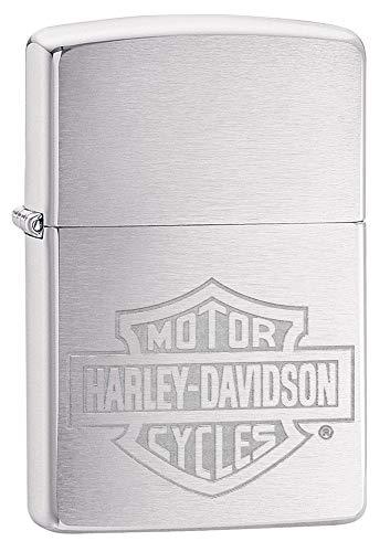 Orig. Zippo Harley Davidson Motorcycles, Bar & Shield (Harley-davidson-namen)