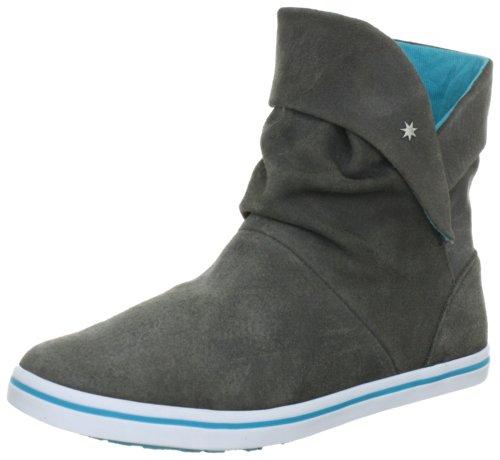 DC Shoes Aura LE D0320067, Stivaletti donna, Grigio (Grau (GRY/WT GRWD)), 37