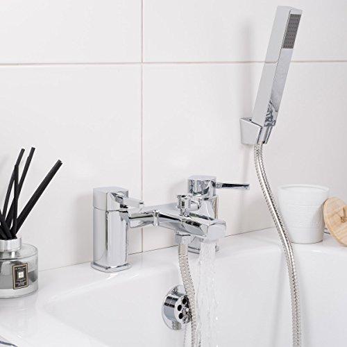 Badewannenarmatur Duscharmatur Duschset Handbrause Wasserhahn Chrom