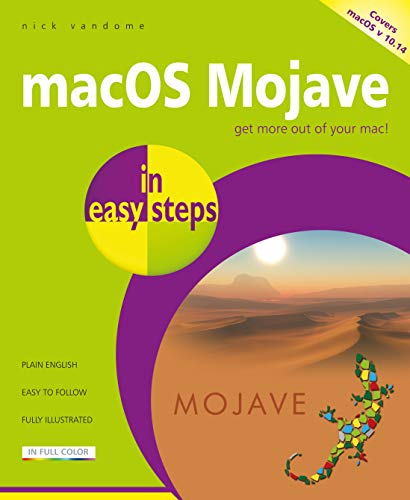 macOS Mojave in easy steps: Covers v 10.14 (English Edition)