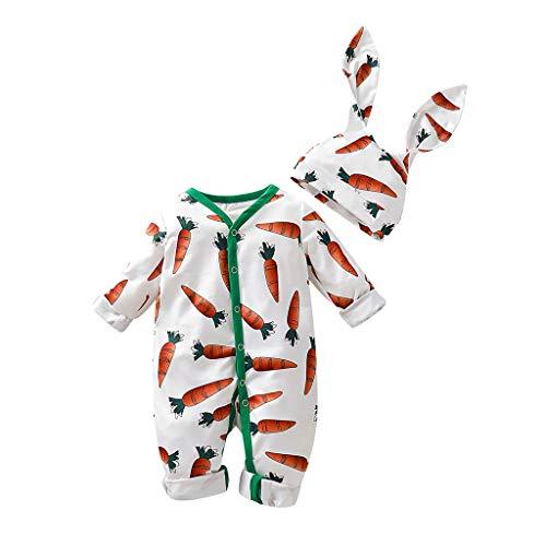 Karotten Outfit - Beikoard Babykleidung Cartoon Karotten Print Strampler