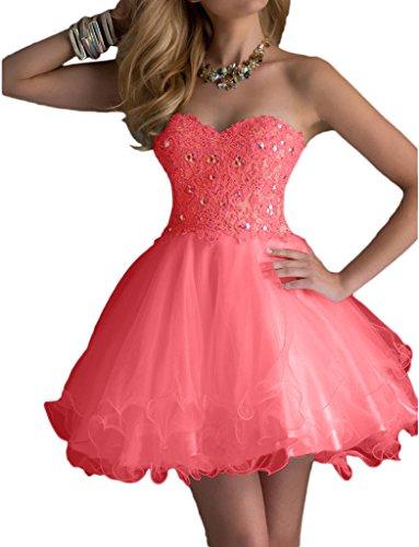 Promgirl House - Robe - Trapèze - Femme Rose - Wassermelone