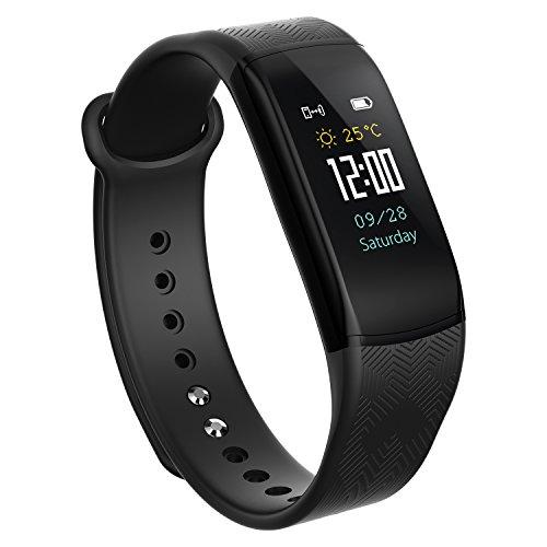Smartwatch-Braccialetto connesso pedometro polso Fitness Tracker di Attività Cardio impermeabile podometre Donna Uomo Bambino per SAMSUNG iPhone Android Sport Nuoto-Venduto da udenx, blu