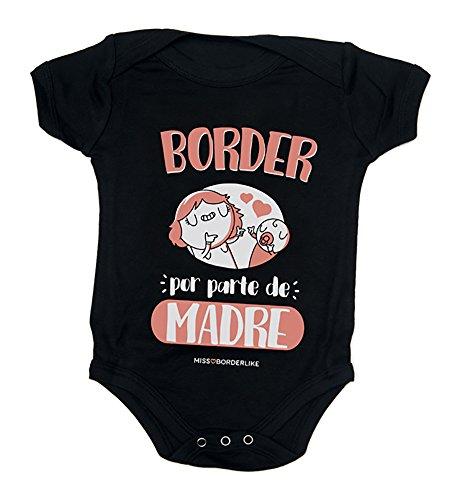 Missborderlike - Body manga corta 12 a 18 - Border por parte de madre