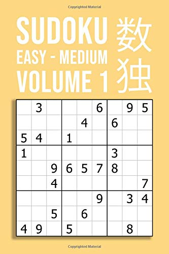 SUDOKU easy - medium | VOLUME 1: 220 Puzzles For Beginner And Novice Solvers | Entertaining Game To Keep Your Brain Active por Peter Smart Publishing