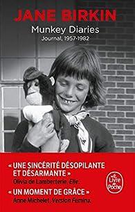 Munkey Diaries: 1957-1982 par Jane Birkin