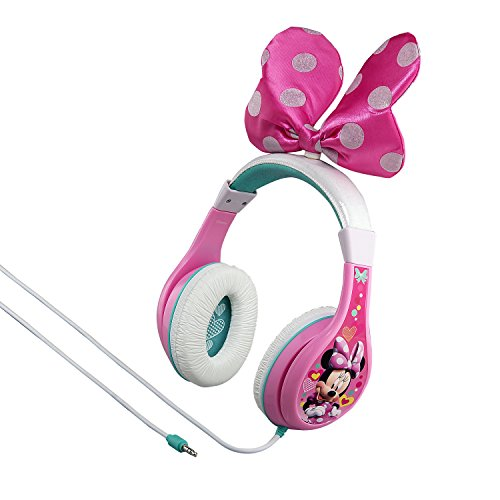 Minnie Mouse Bow-tastic Headphones by KIDdesigns - Minnie Bows