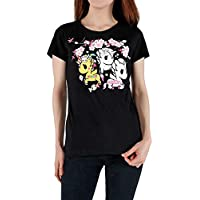 tokidoki Blooming Unicornos T-Shirt Black