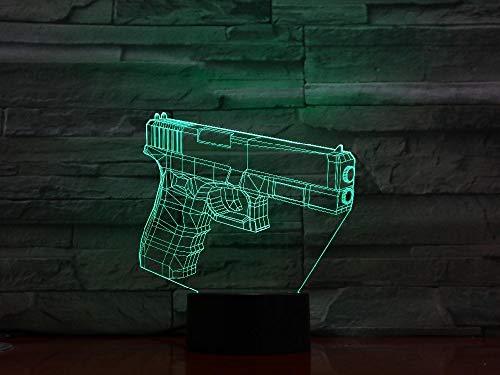 ische täuschung 7 bunte tischlampe diy led nachtlicht gravierte acryl nachtlicht handwerk kinder ()