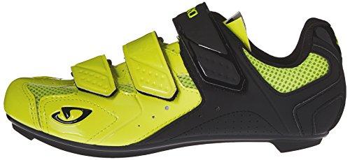 Giro-Scarpe per bici da strada, Treble II (Highlight Yellow/Blk)