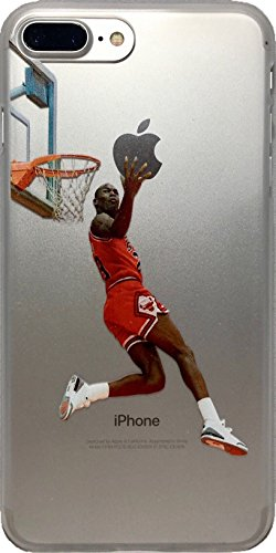 87185ae119074 ECHC Fulfillment Soft TPU Basketball Case with Your Favorite Past and  Present Players (Jordan Reverse Dunk, iPhone 7 Plus)