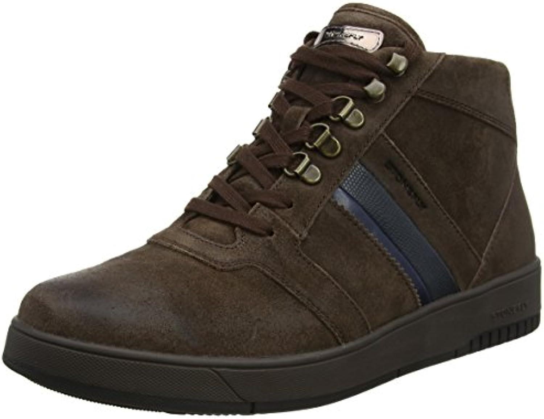 Stonefly Herren Dover 10 Velour Oil Sneaker