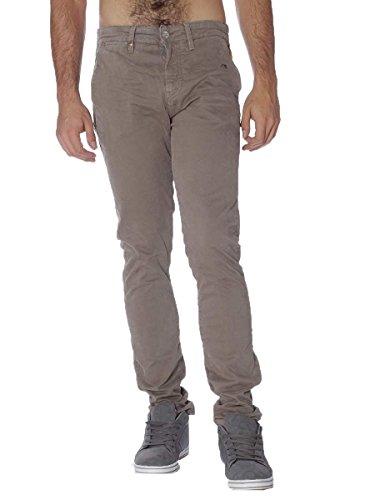 Pantalone Meltin Pot in Cotone SIMON-MP020 Inverno2017 Tortora, 33 MainApps